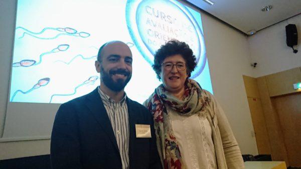 Prof. Doutor Ricardo Santos e Dra. Isabel Reis